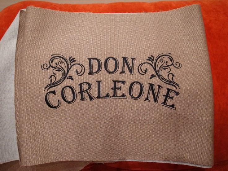 вышивка дон корлеоне